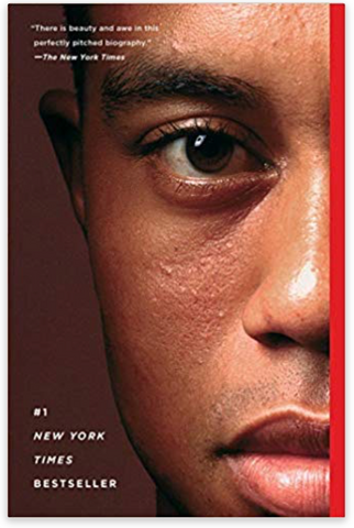 Tiger Woods Book Ellis Wilson Designs Men's holiday gift guide 2019