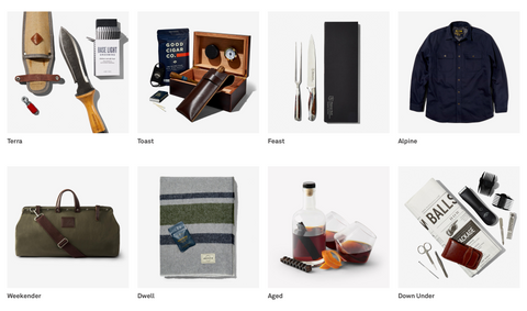 Shop the boxes Ellis Wilson Designs men's holiday gift guide 2019