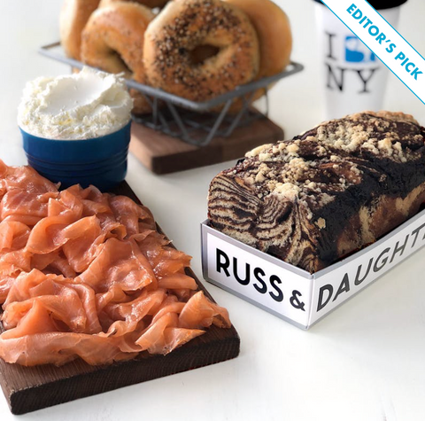 Russ & Daughters Smoked Salmon Ellis Wilson Designs Men's holiday gift guide 2019