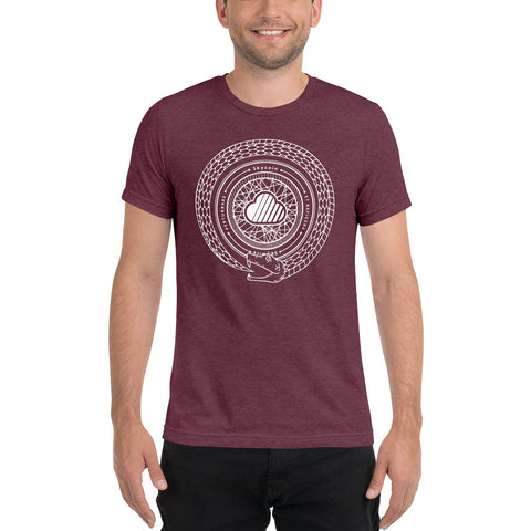 Snake Tri-Blend Short Sleeve T-Shirt