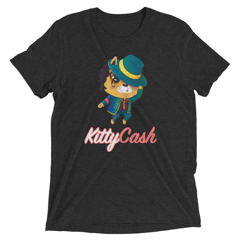Kitty Cash Dancer Tri-Blend Short Sleeve T-Shirt