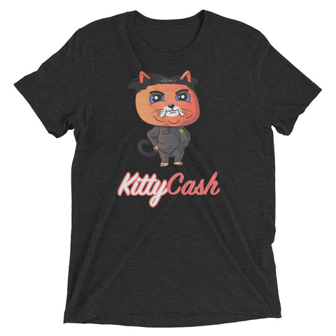 Kitty Cash Kim Jong Un Tri-Blend Short Sleeve T-Shirt