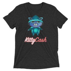 Kitty Cash Hacker Tri-Blend Short Sleeve T-Shirt