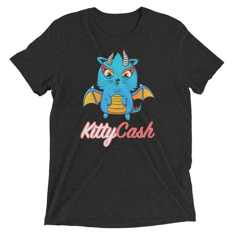 Kitty Cash Dragon Tri-Blend Short Sleeve T-Shirt