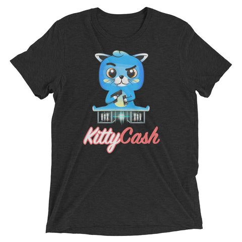Kitty Cash Synth Tri-Blend Short Sleeve T-Shirt