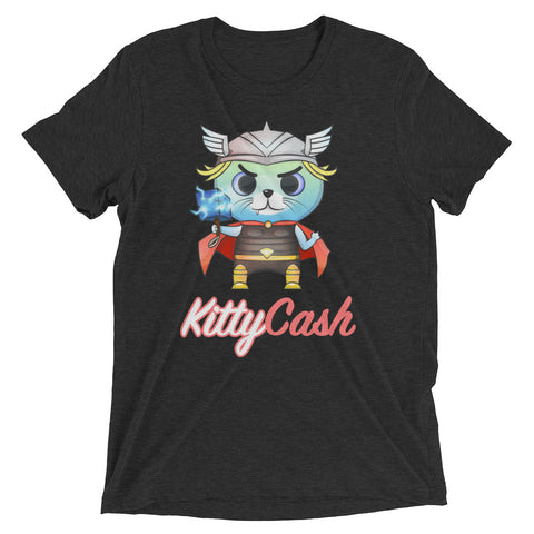 Kitty Cash Viking Tri-Blend Short Sleeve T-Shirt