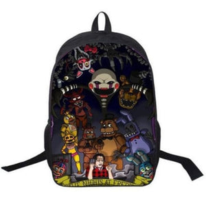 Five Nights At Freddys Backpack School Bag Daypack Back To School