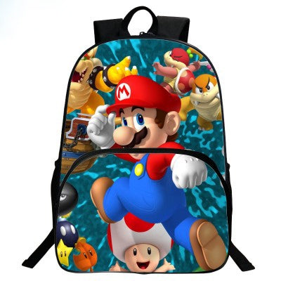 Super Mario Odyssey Backpack All W Character School Bag Daypack