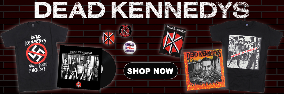 Dead Kennedys T Shirt Amplified Official Logo Punk Rock East Bay Ray Klaus