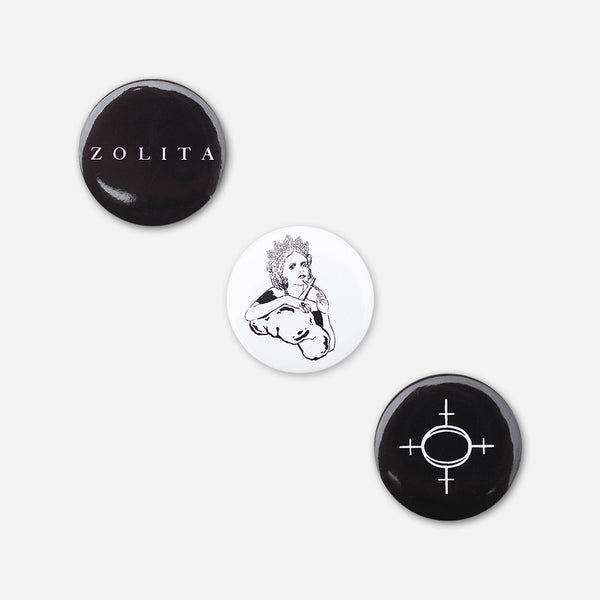 Zolita Button Package by Zolita for sale on hellomerch.com
