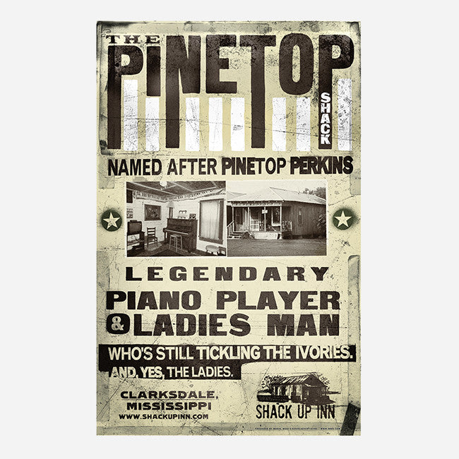 "Pinetop 18""x 28"" Poster"