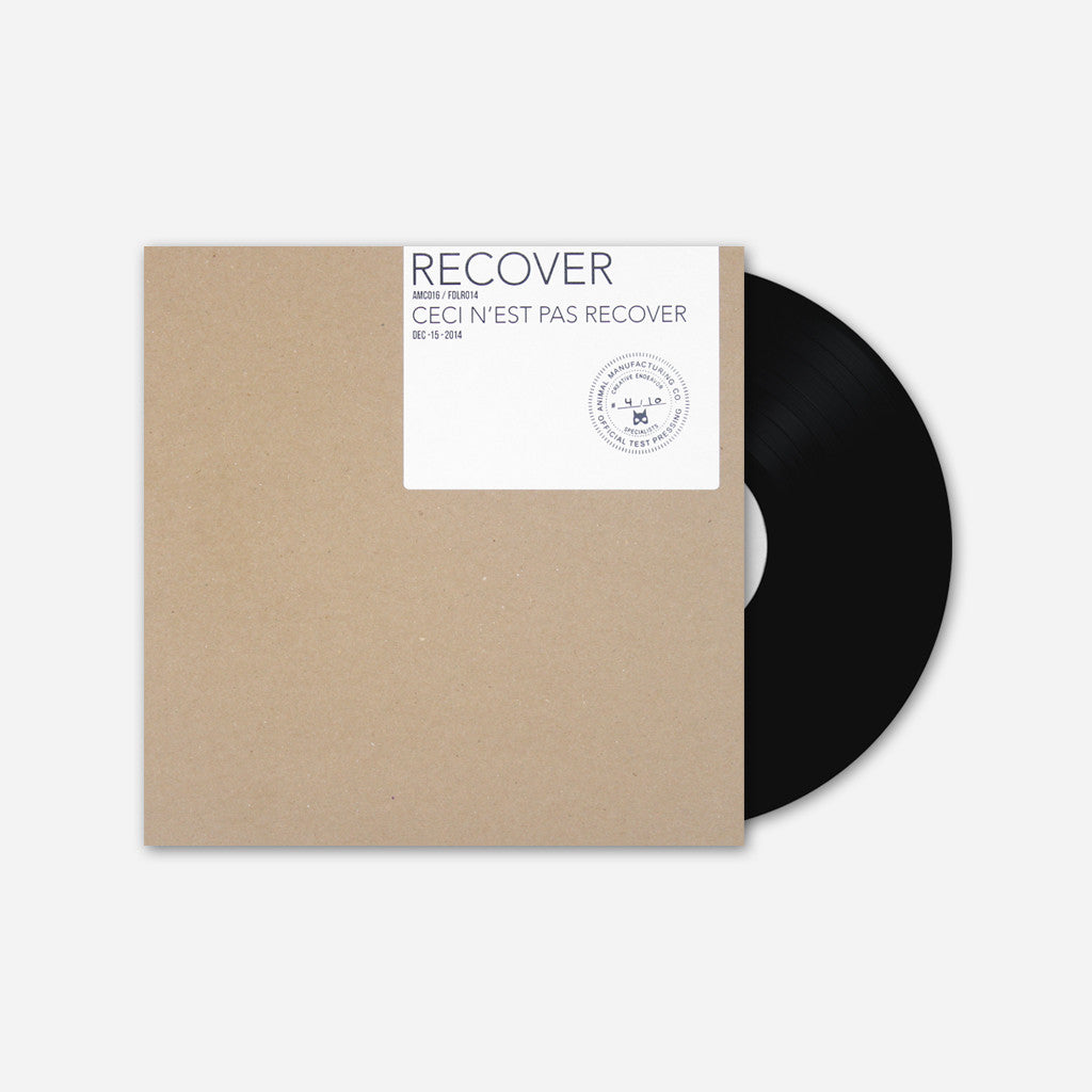 Ceci N'est Pas Recover Test Pressing - Recover - Hello Merch