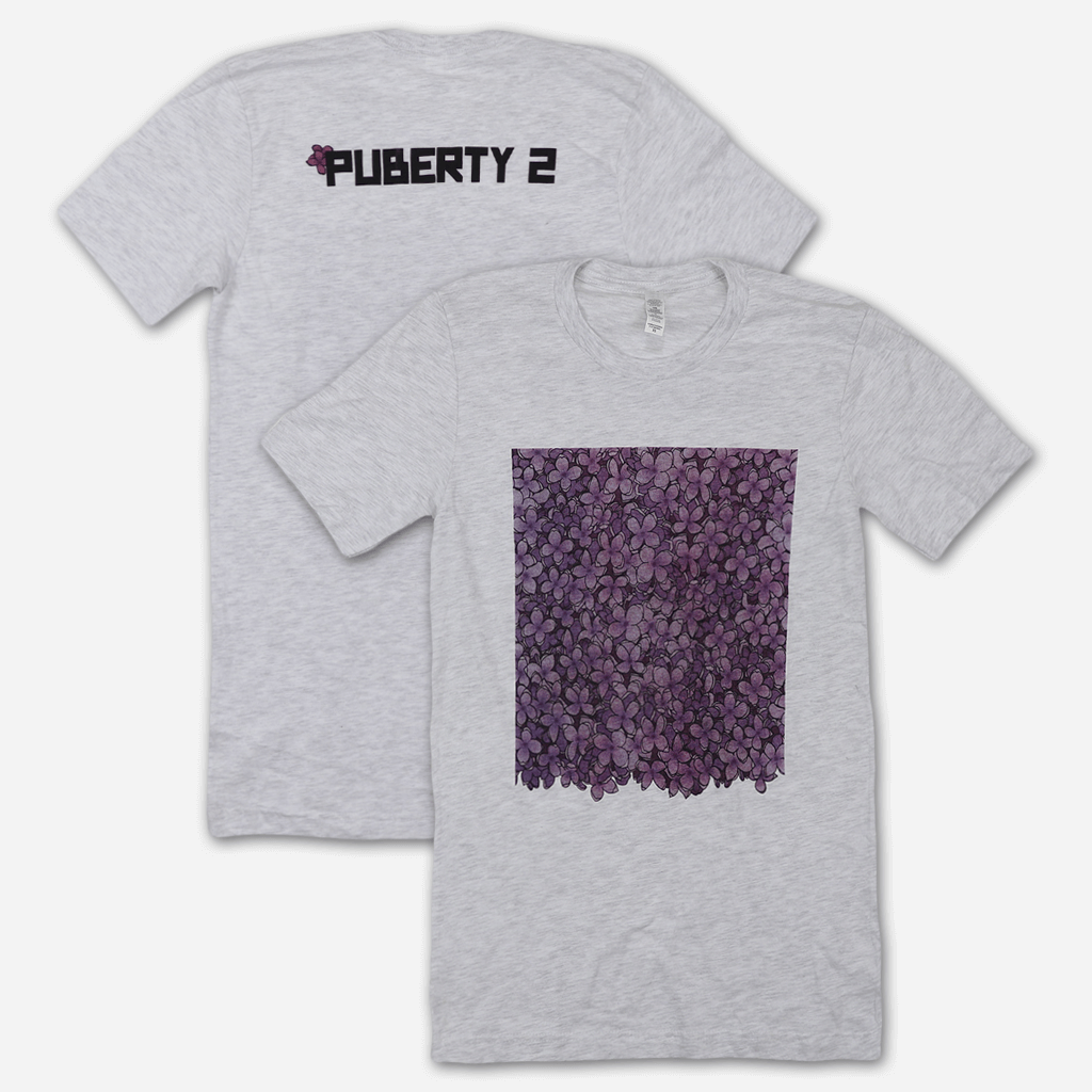 Lilac Heather Grey T-Shirt