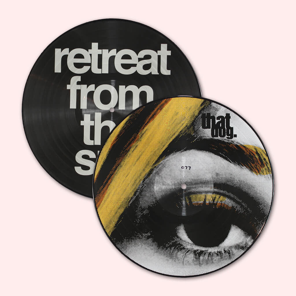 "Retreat From The Sun 12"" Autographed Picture Disc Vinyl"