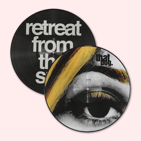 "Retreat From The Sun 12"" Autographed Picture Disc Vinyl by that dog. for sale on hellomerch.com"