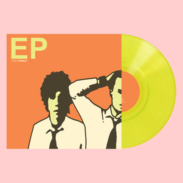 "Limited Edition - EP 10"" Highlighter Yellow Vinyl by The Format for sale on hellomerch.com"