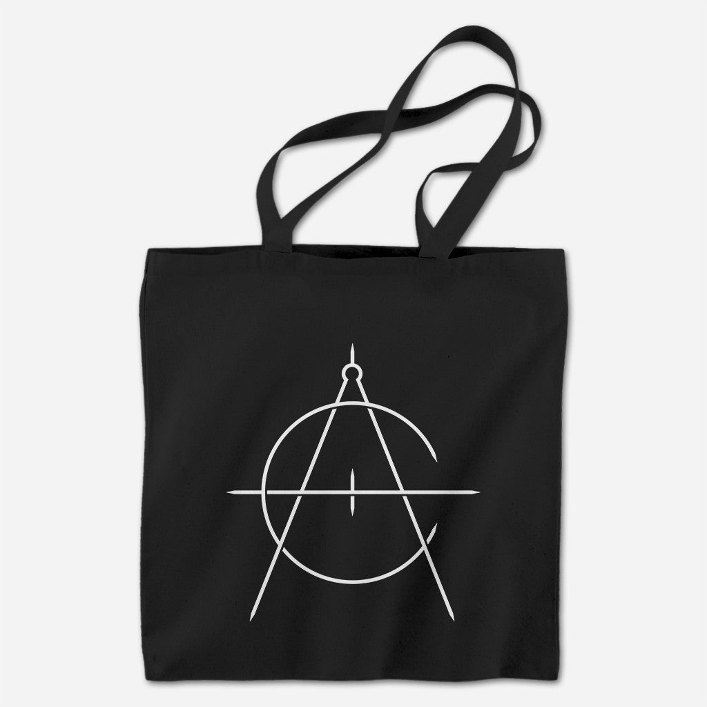 Icon Black Tote Bag - Caspian - Hello Merch