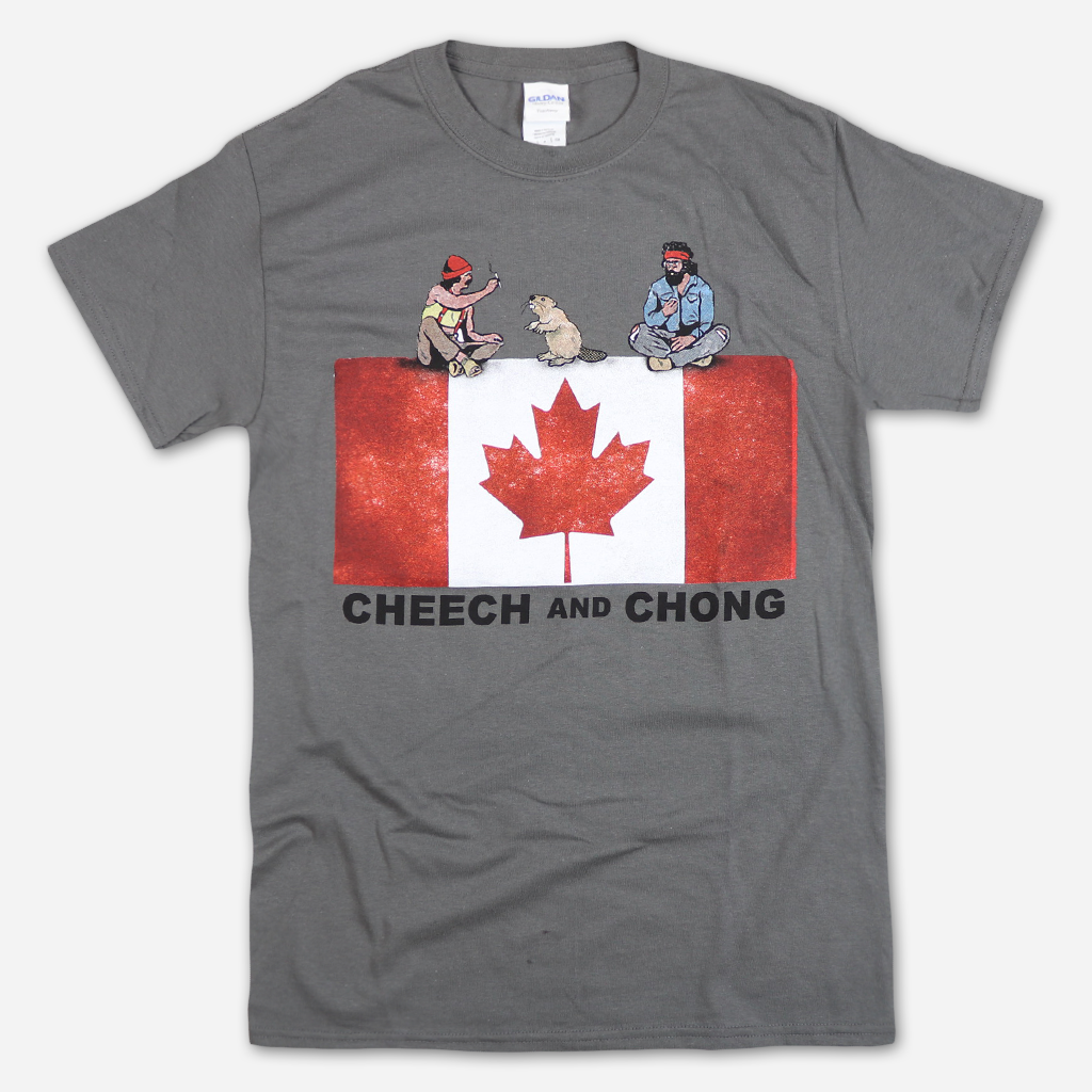 Canada Tour 2019 Smoking Beaver Charcoal T-Shirt
