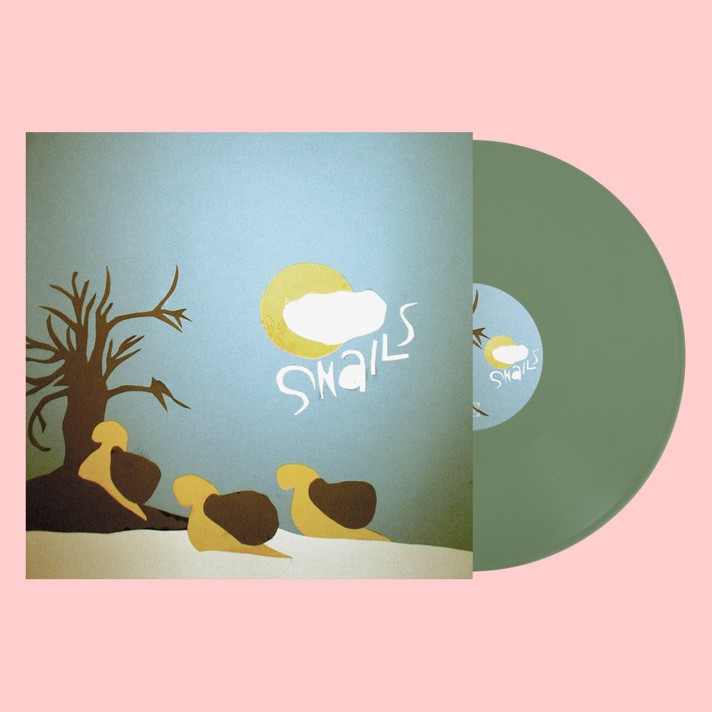 "Limited Edition - Snails EP 12"" Olive Vinyl"