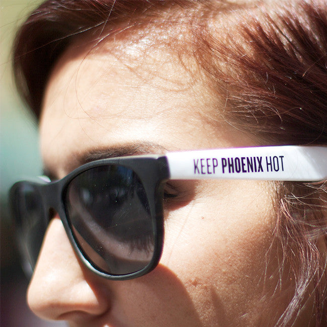 Keep Phoenix Hot Sunglasses - Crescent Ballroom - Hello Merch