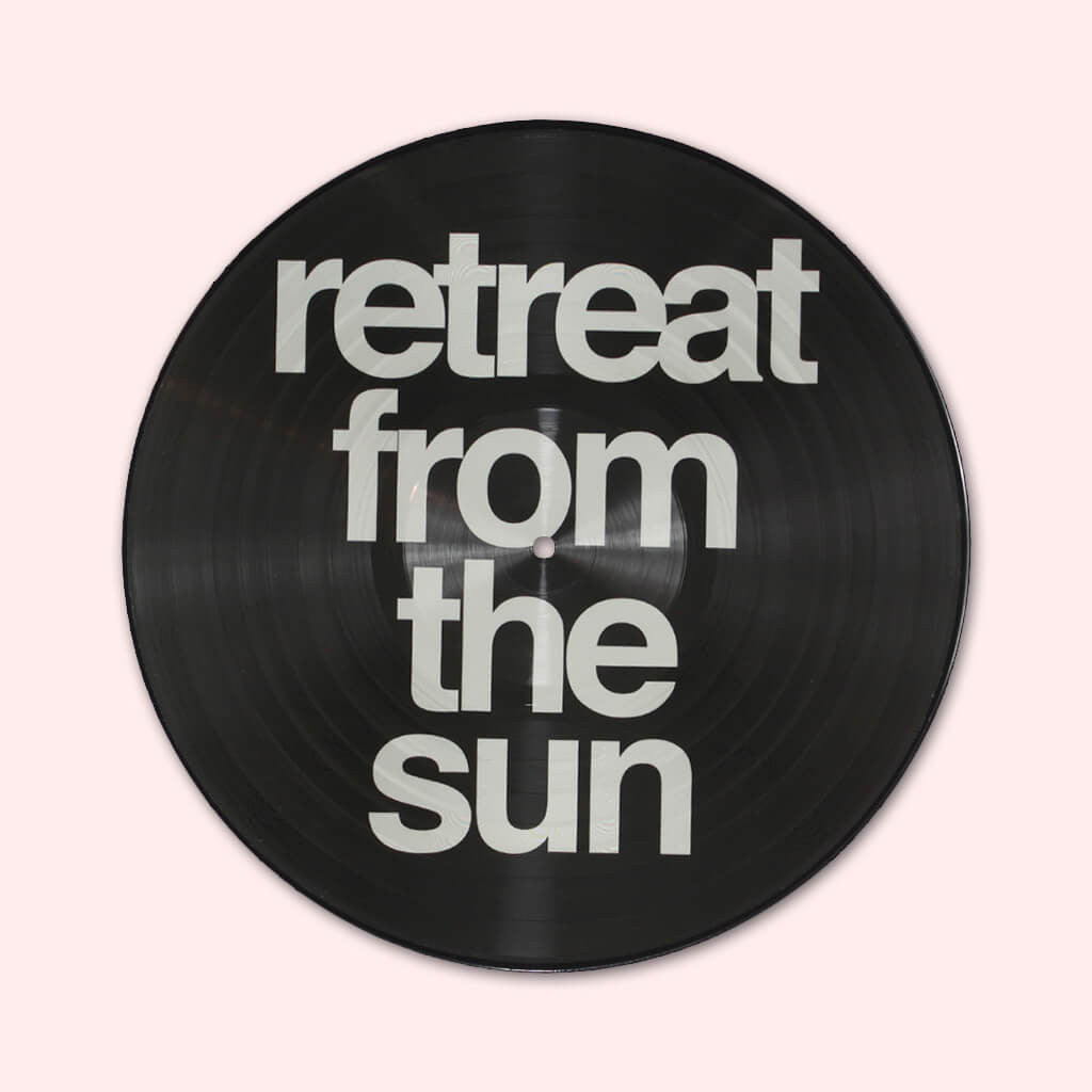 "Retreat From The Sun 12"" Autographed Picture Disc Vinyl - that dog. - Hello Merch"