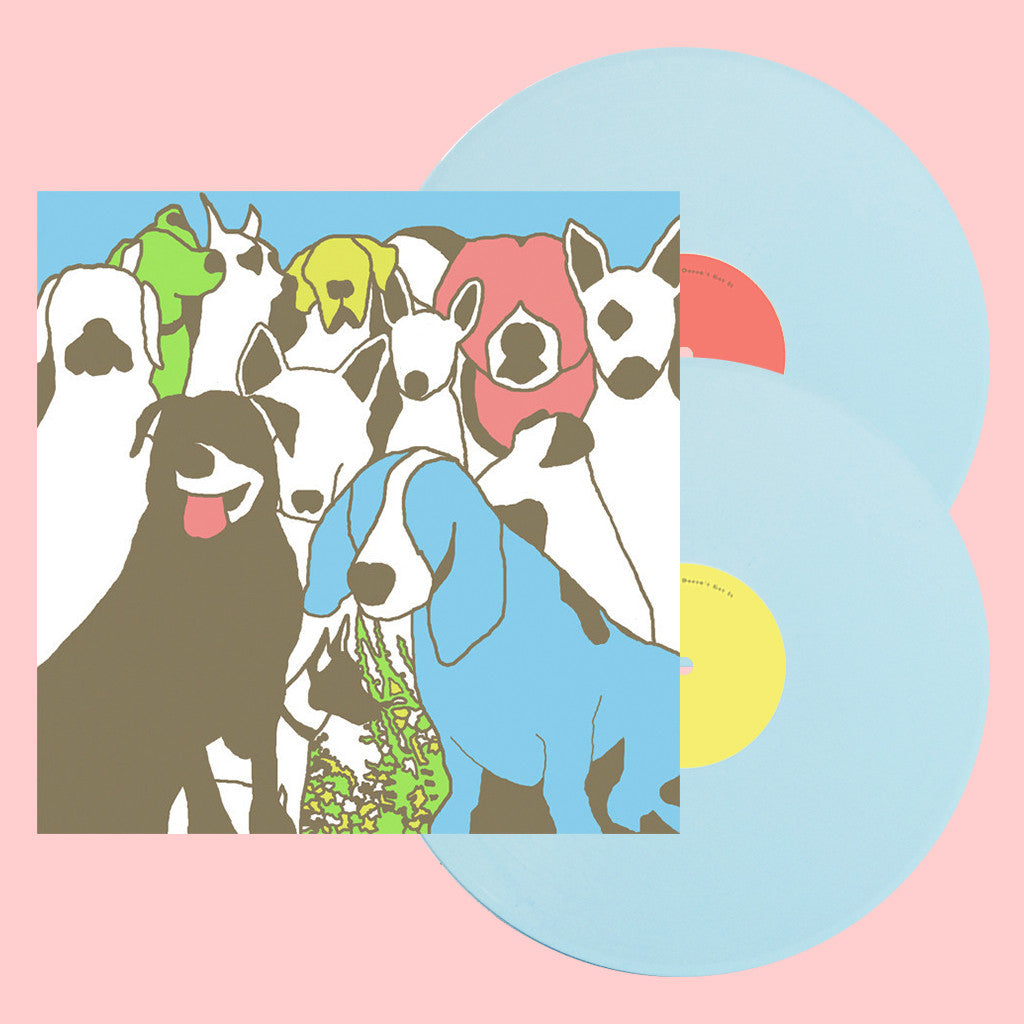 "Limited Edition - Dog Problems 12"" Deluxe Baby Blue Double Vinyl"