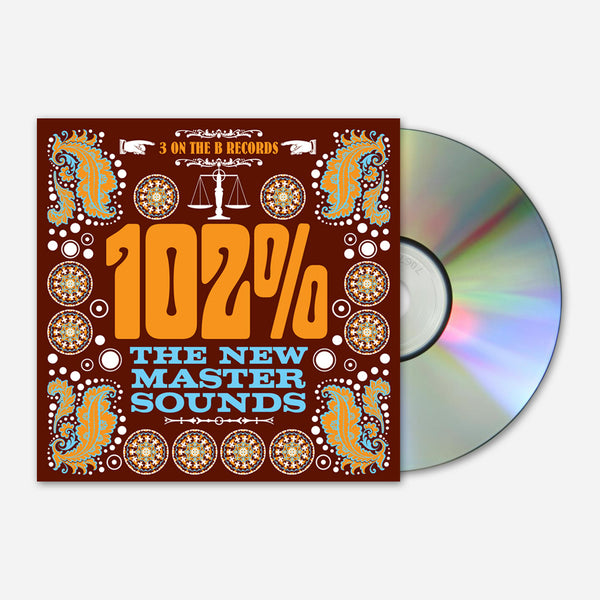 102% CD by The New Mastersounds for sale on hellomerch.com