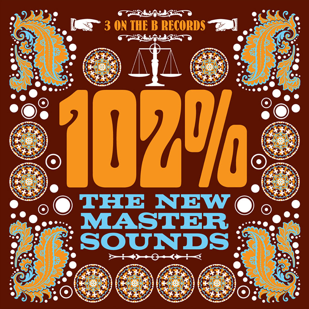 102% CD - The New Mastersounds - Hello Merch