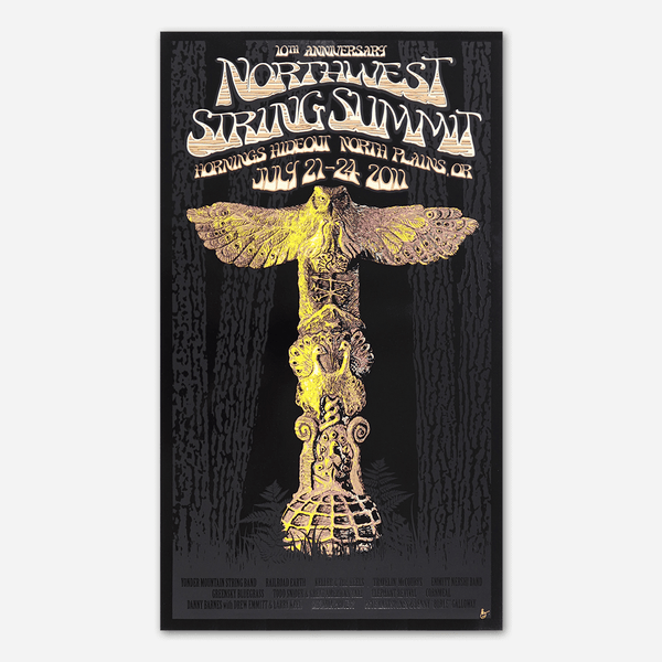 2011 Poster by Northwest String Summit for sale on hellomerch.com