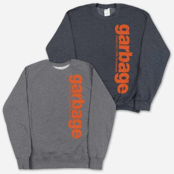 Version 2.0 // 20th Anniversary Sweatshirt by Garbage for sale on hellomerch.com
