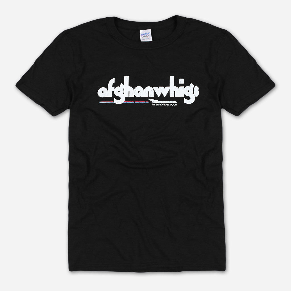 Afghan Whigs -  '78 European Tour T-Shirt - Greg Dulli - Hello Merch