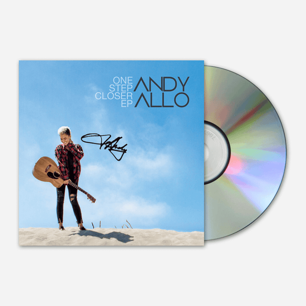 One Step Closer EP by Andy Allo for sale on hellomerch.com