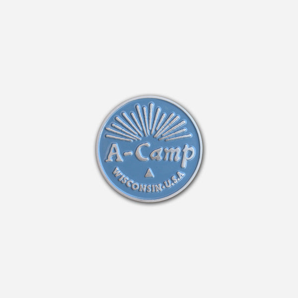 A-Camp Pin by Autostraddle for sale on hellomerch.com