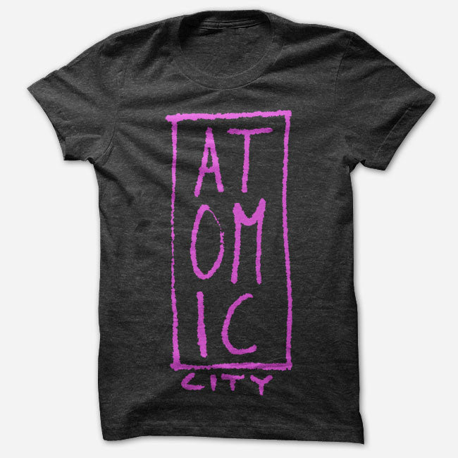 Atomic City Logo Black Tri-Blend - Atomic City - Hello Merch