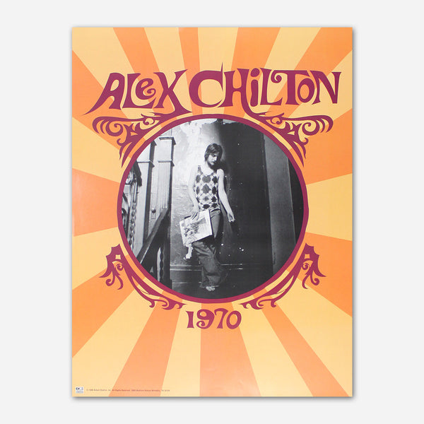 Alex Chilton - 1970 Poster by Ardent Music for sale on hellomerch.com