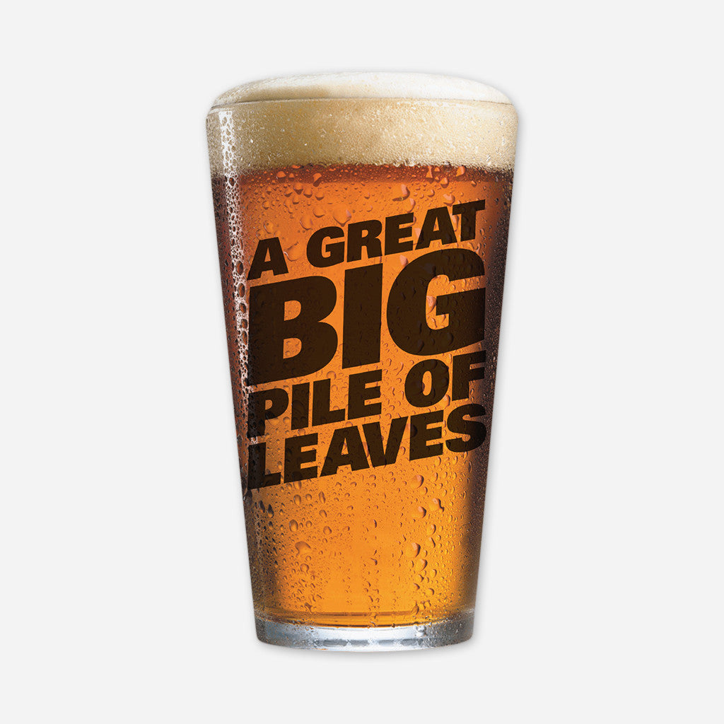 Big Logo Pint Glass