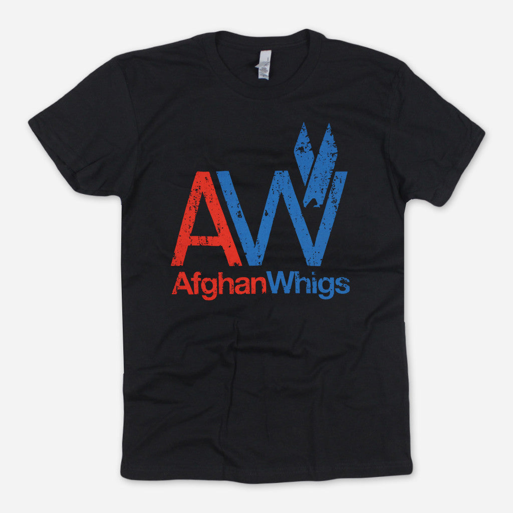 Afghan Whigs - AW Big Print Black T-Shirt