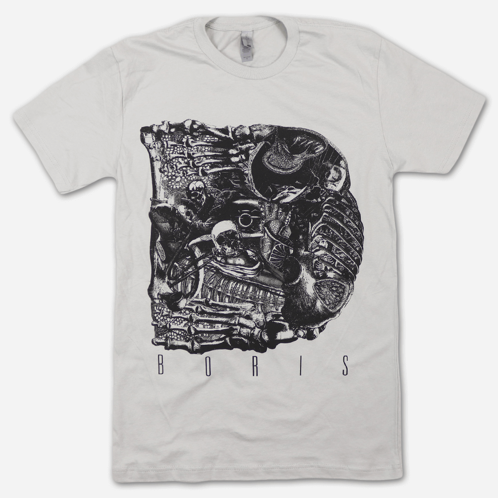 Alt Dear Light Grey T-Shirt - Boris (Band) - Hello Merch