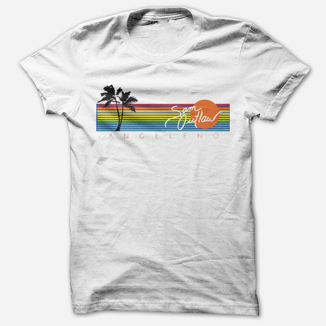 Sam Angeleno White T-Shirt