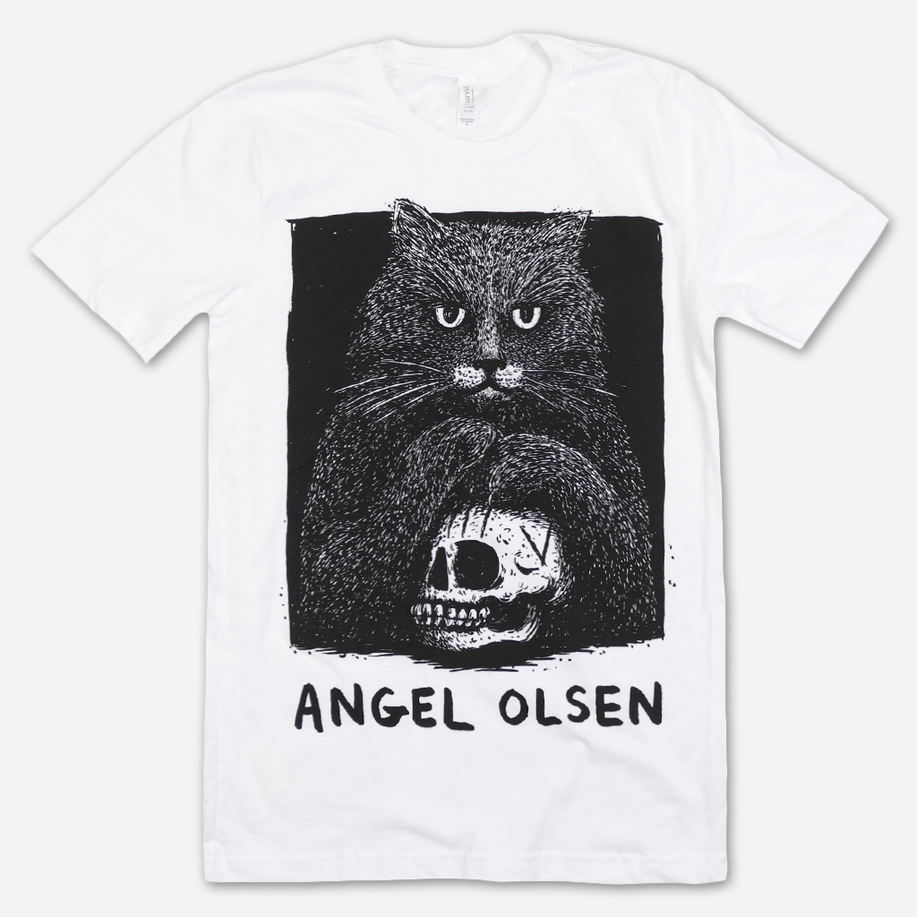 Violet The Cat White T-Shirt