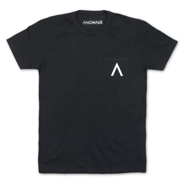 Logo Black Pocket T-Shirt by Anomalie for sale on hellomerch.com