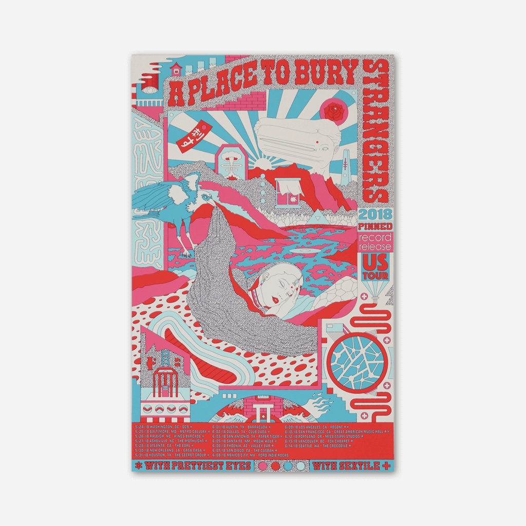 pinned us tour 2018 poster