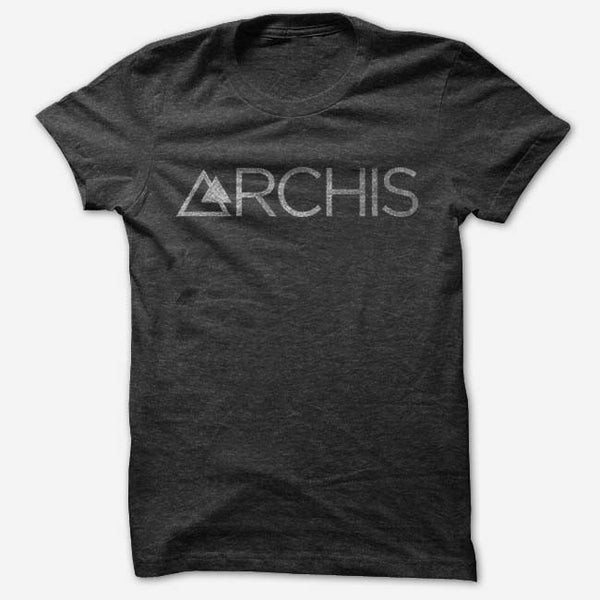 ARCHIS - Logo Black Tri-Blend T-Shirt by Dia Frampton for sale on hellomerch.com