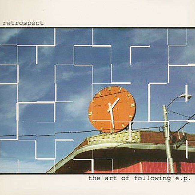 Retrospect - The Art Of Following EP CD - Ardent Music - Hello Merch