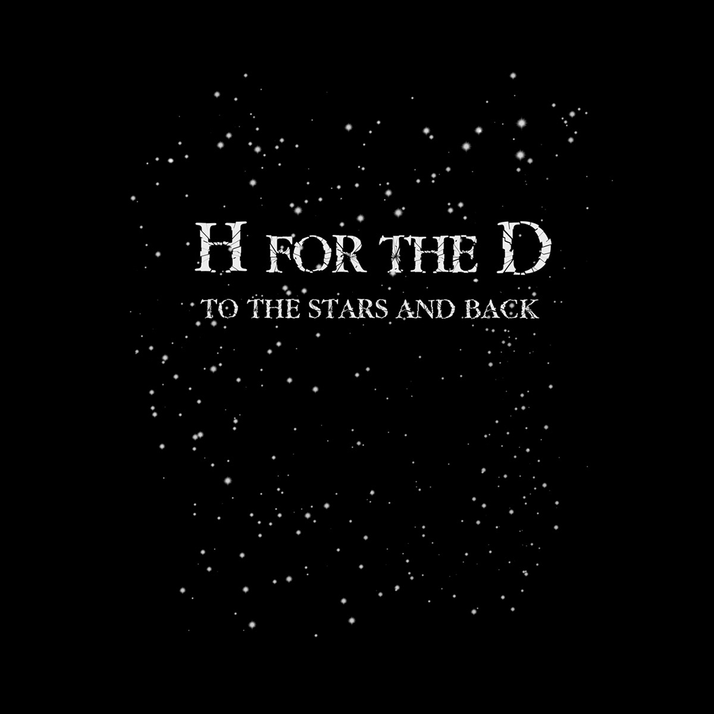 H for the D Twilight Zone Vintage Black T-Shirt