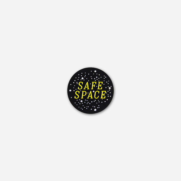Safe Space Pin by Autostraddle for sale on hellomerch.com