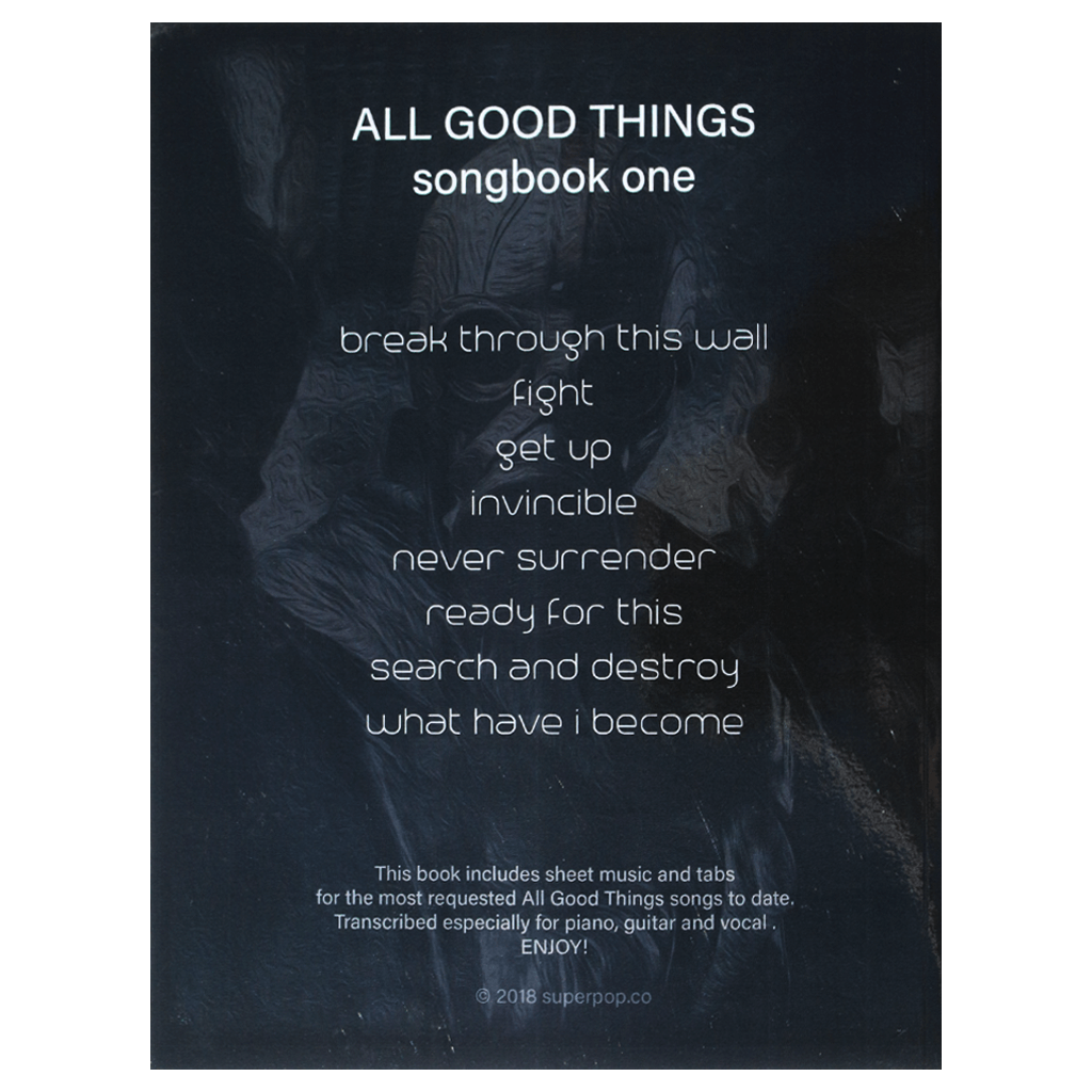 Signed Songbook One