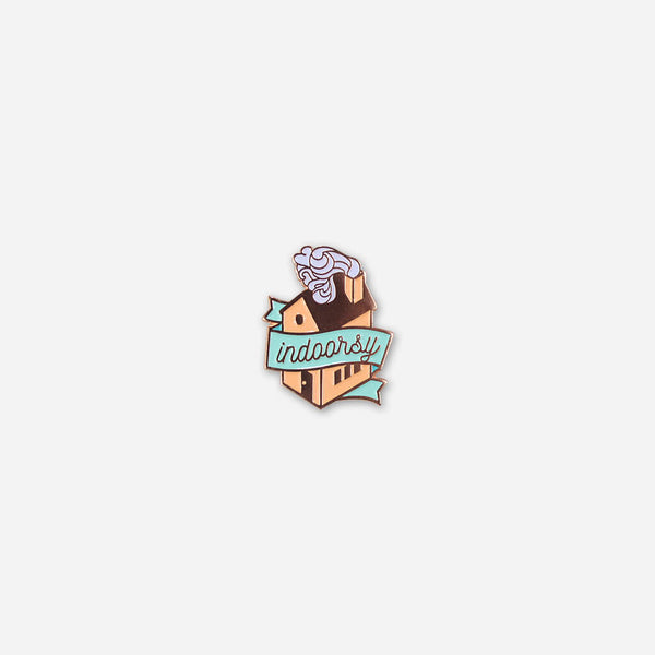 Indoorsy Pin by Autostraddle for sale on hellomerch.com
