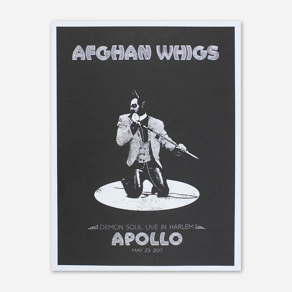 Afghan Whigs - Limited Edition Apollo Show Poster by Afghan Whigs for sale on hellomerch.com