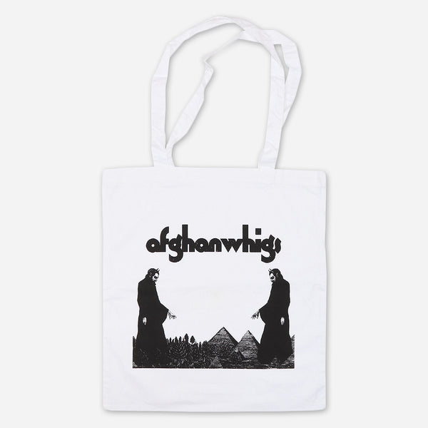 In Spades White Tote Bag by Afghan Whigs for sale on hellomerch.com